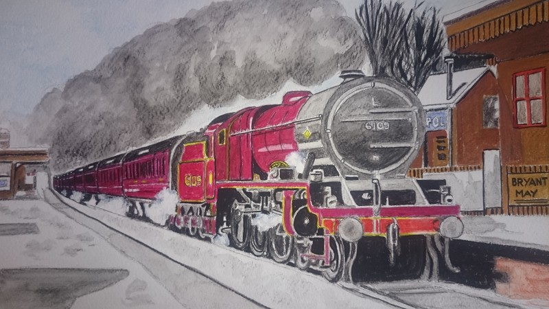 Class 5 steam train